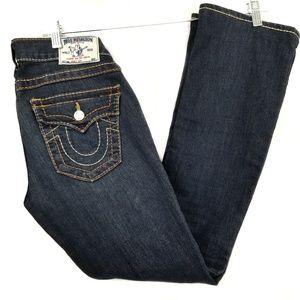 True religion section boot cut denim jeans